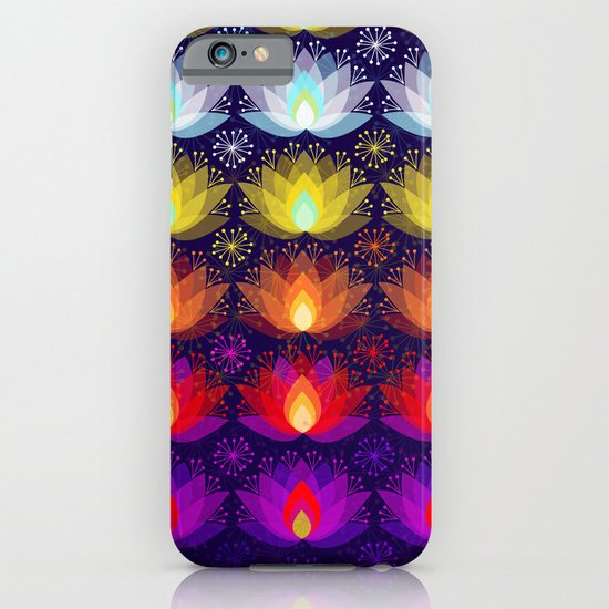 Variations on a Lotus I - Sparkle Brightly iPhone & iPod Case