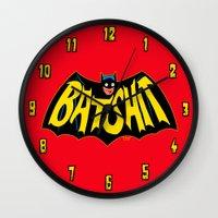 BATSHIT Wall Clock