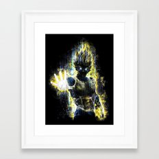 The Prince of all fighters Framed Art Print