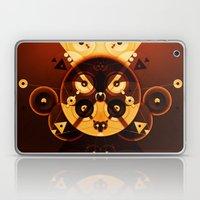Ying-Yang Gold Cross Version Laptop & iPad Skin