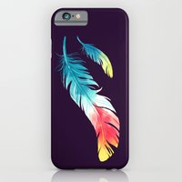 iPhone & iPod Case featuring Feather by Freeminds