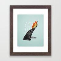 Capitalism. Framed Art Print