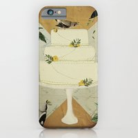 iPhone Cases featuring Let Them Eat Cake :: I by Heather Landis