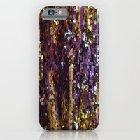 iPhone & iPod Case featuring PURPLE AND GOLD by Amanda Thomas