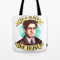 In Mulder We Trust Tote Bag
