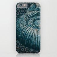 Ammonite On Pattern 2201 iPhone 6 Slim Case