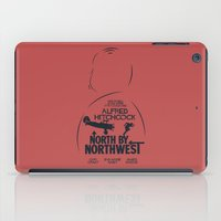 North by Northwest - Hitchcock Movie Poster iPad Case