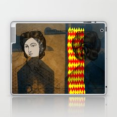 Coiffure for a young lady Laptop & iPad Skin