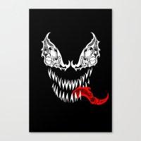 Tribal Venom Canvas Print
