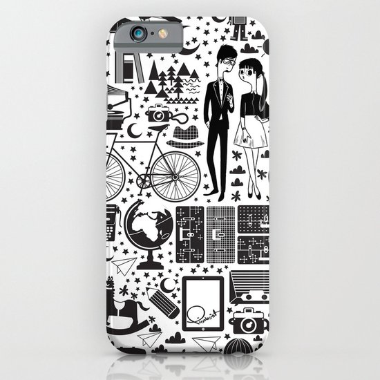 LIKES PATTERNS iPhone & iPod Case