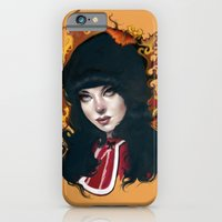 """iPhone & iPod Case featuring """"Francine"""" by Jennifer James"""
