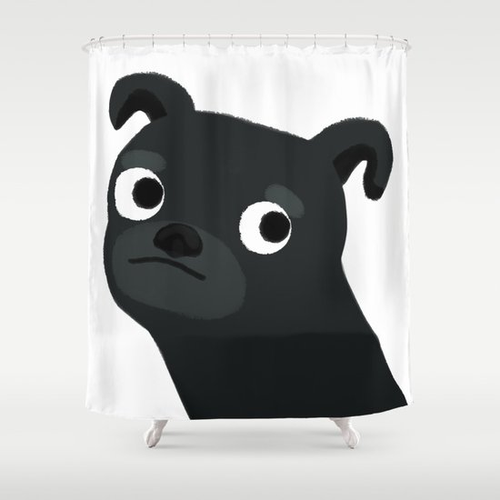 Pug - Cute Dog Series Shower Curtain
