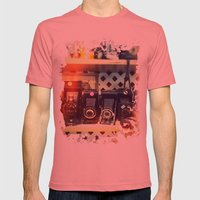 Camera Shop Mens Fitted Tee Pomegranate SMALL