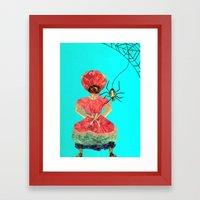 Let's be friends Framed Art Print