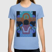 A Mission Womens Fitted Tee Athletic Blue SMALL