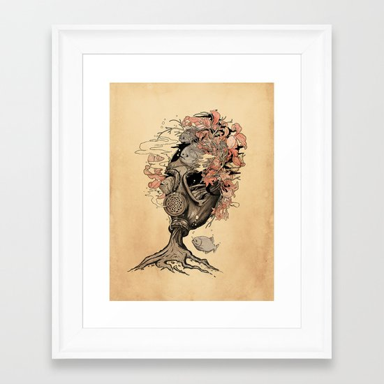 Breath Framed Art Print
