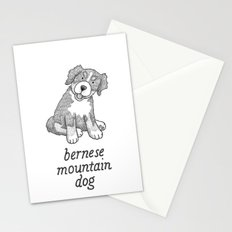 Dog Breeds: Bernese Mountain Dog Stationery Cards
