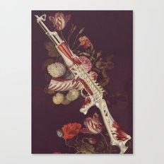 deathbringer *collage Canvas Print