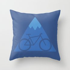Off The Beaten Track Throw Pillow