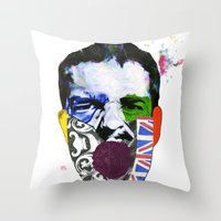 Mr Brandon Flowers, Hey Hot Stuff! Throw Pillow