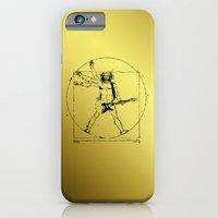 iPhone & iPod Case featuring leonardo guitar by sEndro