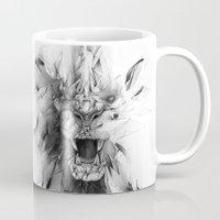 STONE LION Mug