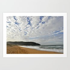 Formations in the sky Art Print