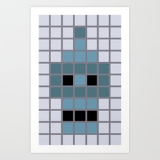 Bender Was Here Art Print