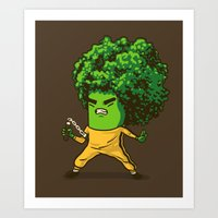 Brocco Lee Art Print