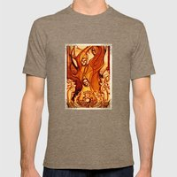Macbeth Witches - Shakes… Mens Fitted Tee Tri-Coffee SMALL