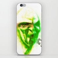 Acid Face iPhone & iPod Skin