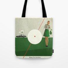 Blame The Sunshine | Collage Tote Bag