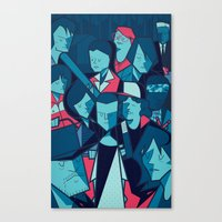 The Upside Down Canvas Print