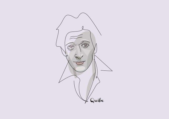 Portrait: Adrien Brody Art Print