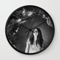 Sci-Fi Wall Clock