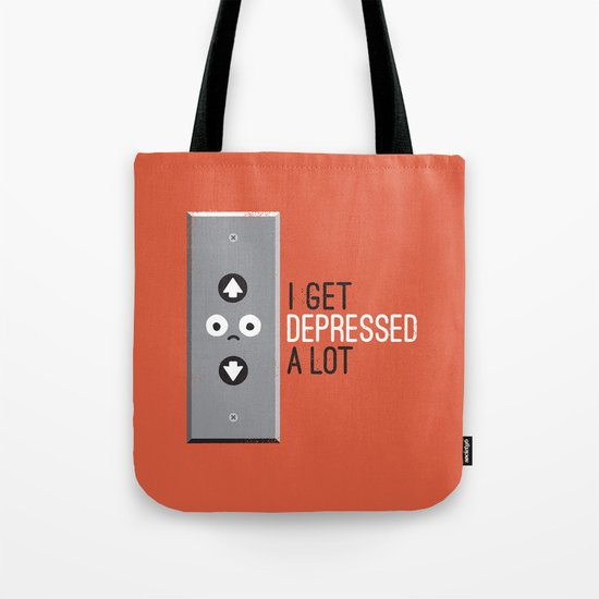 Feeling Down Tote Bag