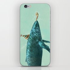 Party Whale  iPhone & iPod Skin