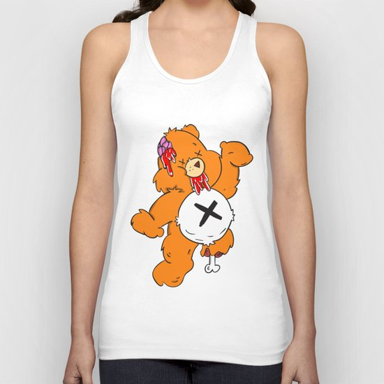 Not So Care Bear Unisex Tank Top