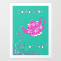 Time For Tea Art Print