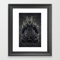 Samurai Spirit Framed Art Print