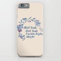 Floral Rap #1 iPhone 6 Slim Case