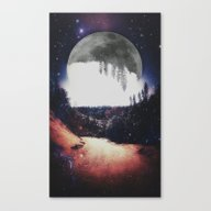 Night Hike Canvas Print