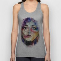 Colourful Tears Unisex Tank Top