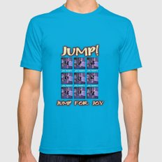Jump! Mens Fitted Tee Teal SMALL
