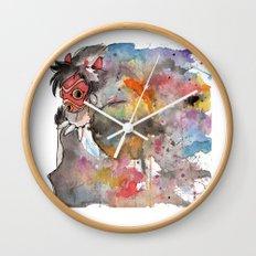 Rainbow Princess Mononoke Wall Clock