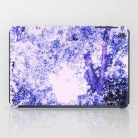 Blue Trees iPad Case