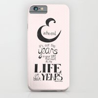 iPhone & iPod Case featuring And in the end by Jennifer Coyle