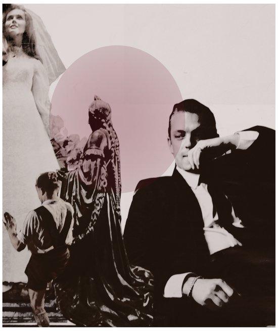 Le Marriage Art Print