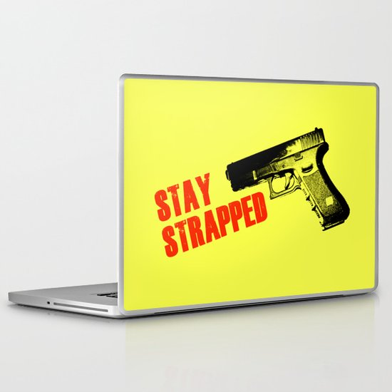 Stay Strapped Laptop & iPad Skin