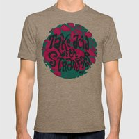 Take Acid With Strangers Mens Fitted Tee Tri-Coffee SMALL